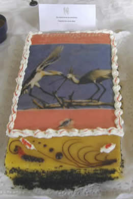 Honeyguide cake