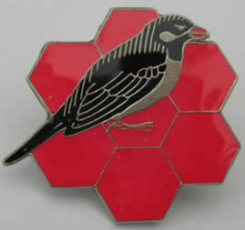 Honeyguide lapel badge